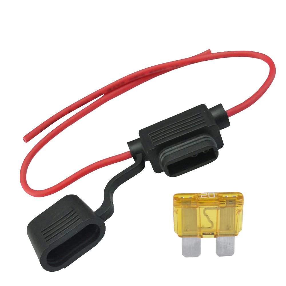 MediTek+20+Amp+Blade+Fuse+Harness+for+Battery+interlink+on+MediTek+Stairlift?format=1000w inline blade fuse holder (m750047) meditek stairlifts meditek stairlift wiring diagram at readyjetset.co