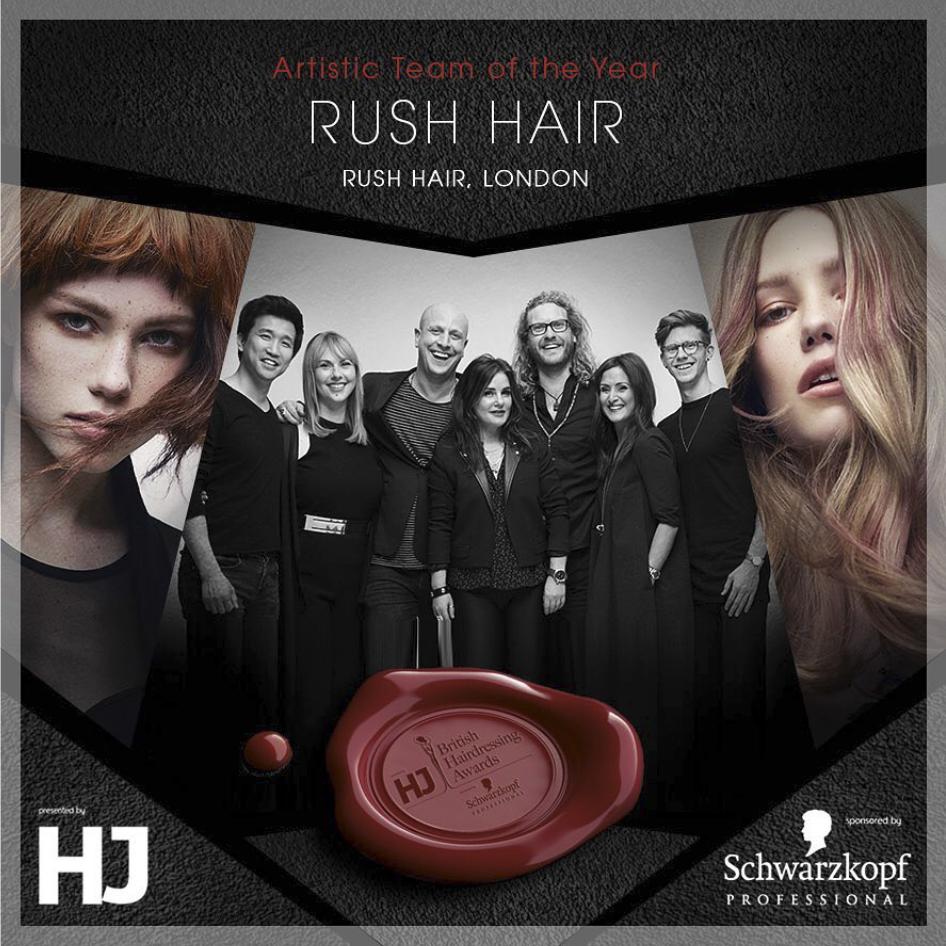 Rush Art team wins Artist Team BHA 2017