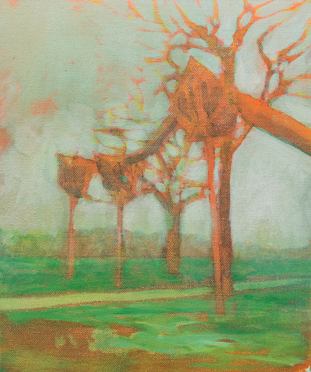 The Walk, Oil on Canvas, 30 x 25cm, 2015