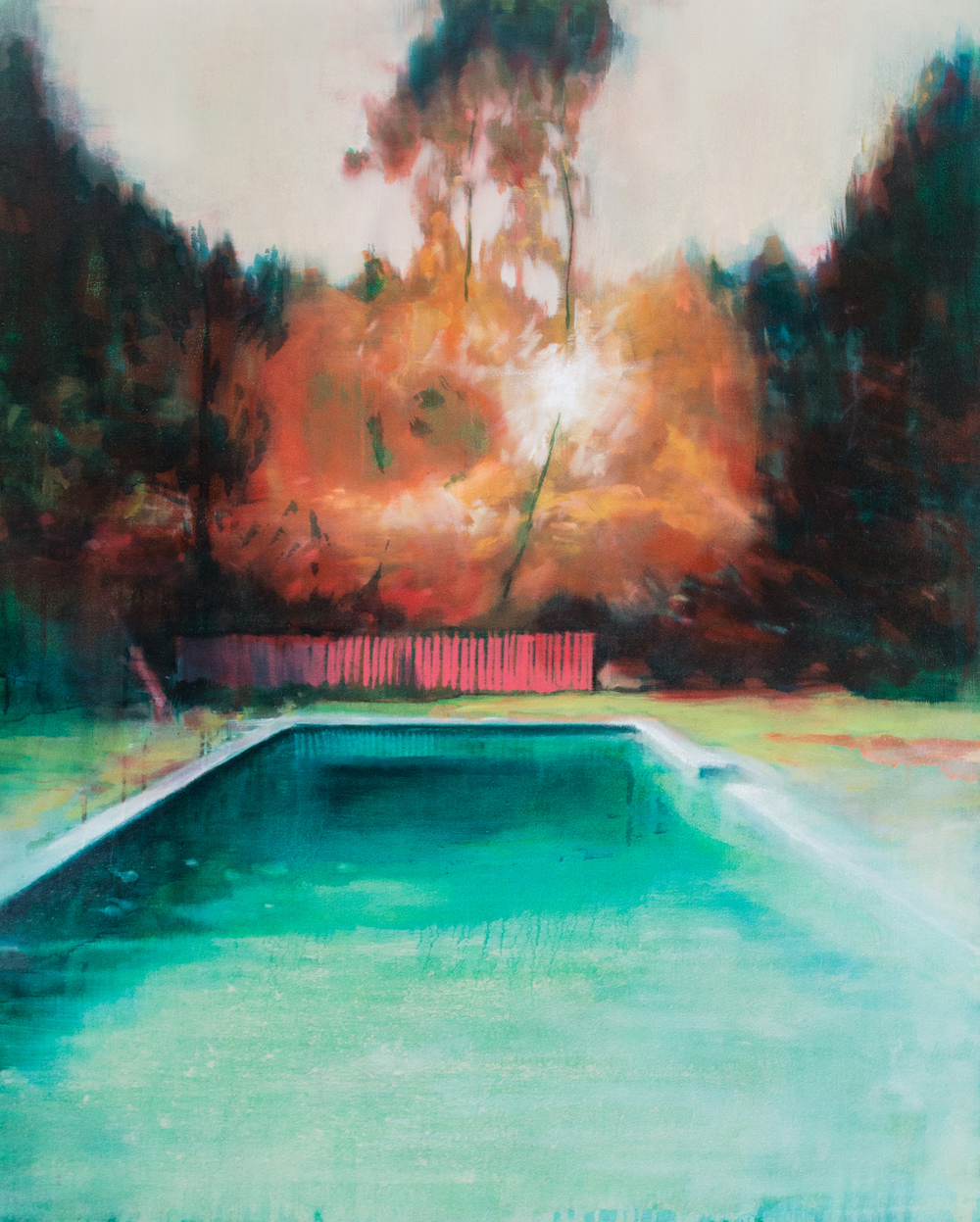 High Season, 100 x 80cm, Oil on Canvas, 2015/16