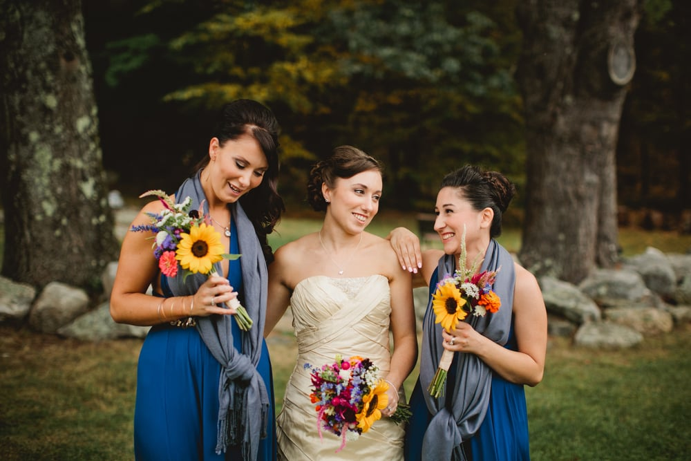 Friendly Crossways New England Same-Sex Farm Wedding Photography