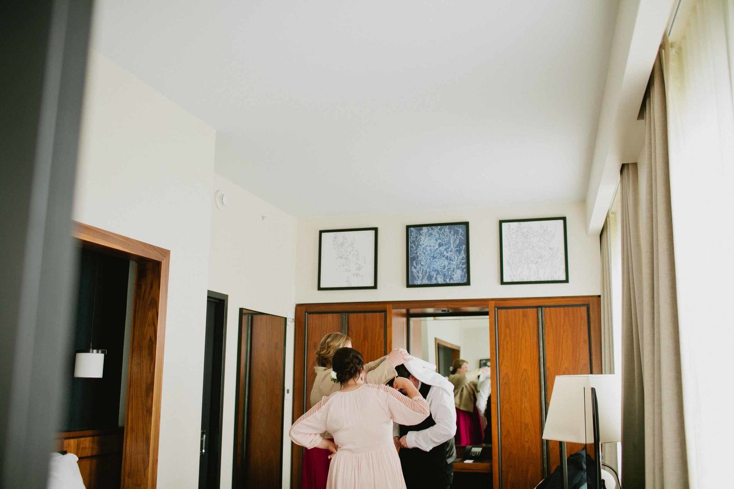 Maine City Hall Elopement & Summer Camp Wedding — She of the Woods