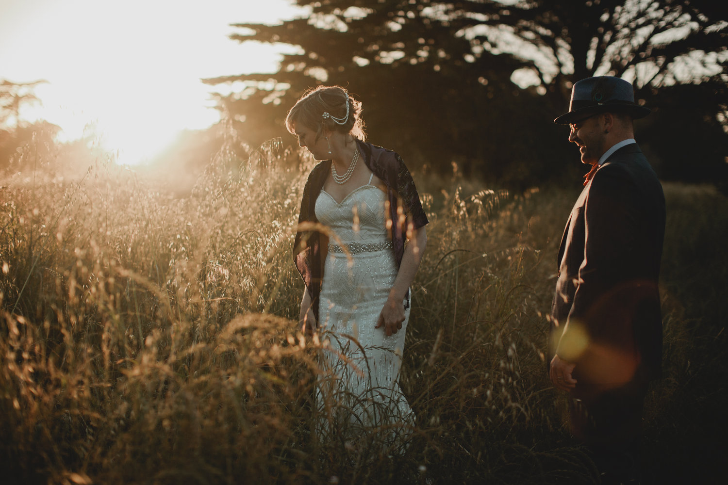1920s Themed Wedding She Of The Woods
