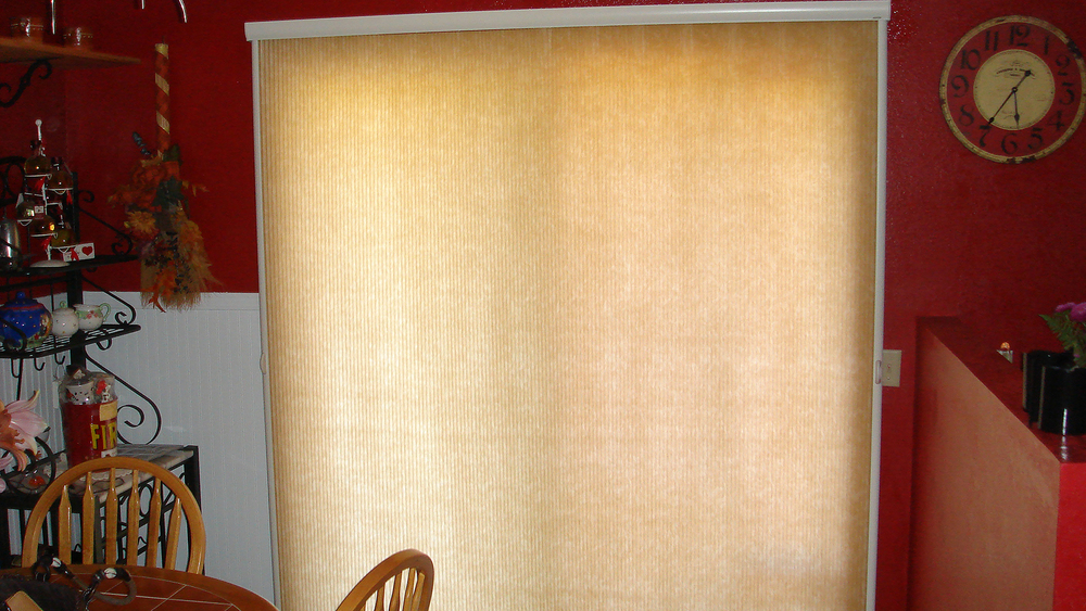 Slide-Vue  Honeycomb Shade on sliding door (open) HD.jpg