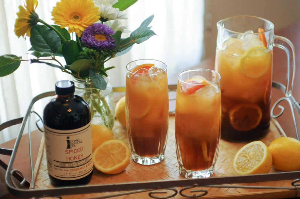 Spiced Honey Arnold Palmer