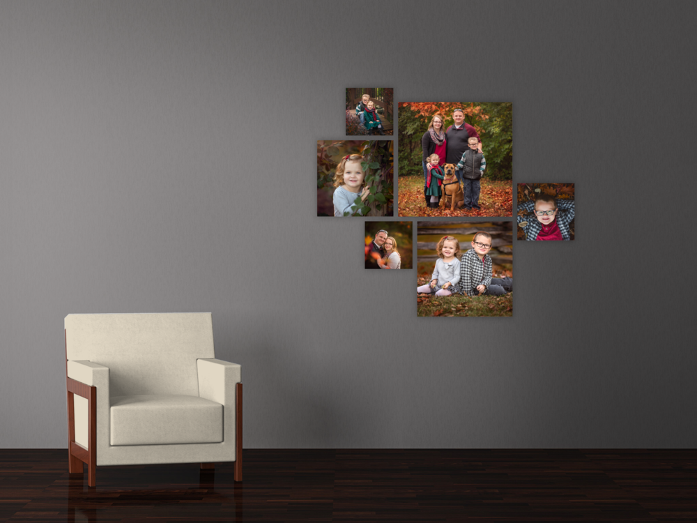 Beautiful home gallery of square canvas prints, Springfield, MO.