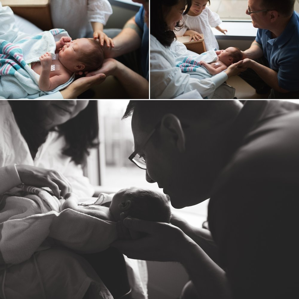 elena s blair seattle newborn photographer hospital
