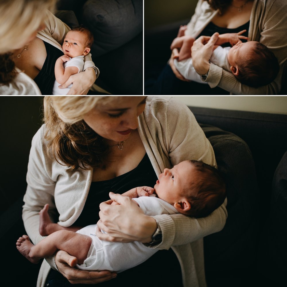 Seattle In Home Newborn Photographer