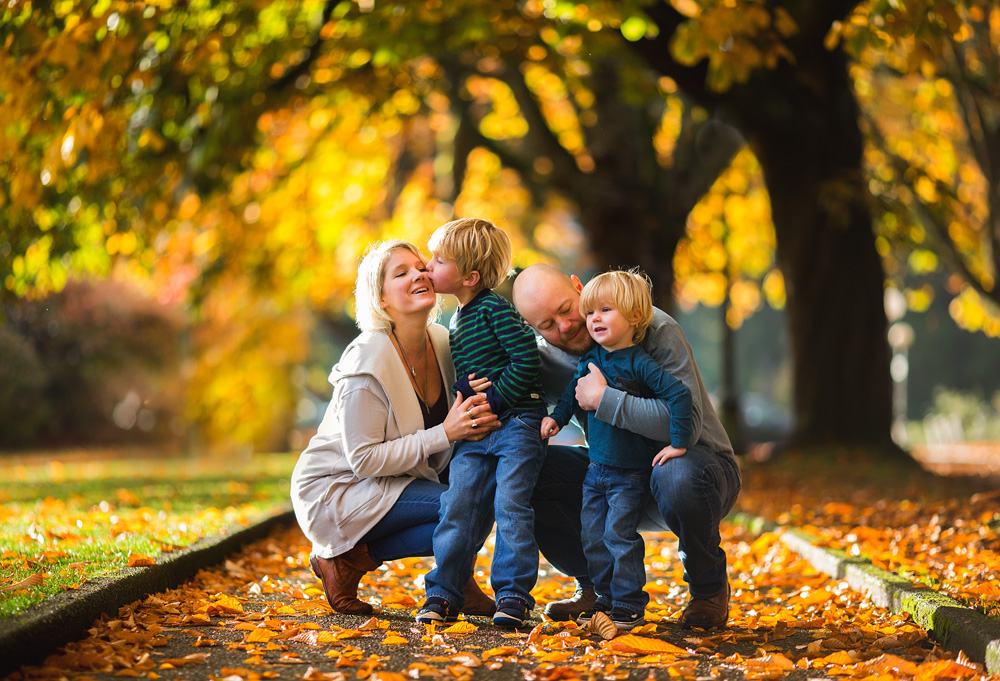 Seattle Fall Family Photos
