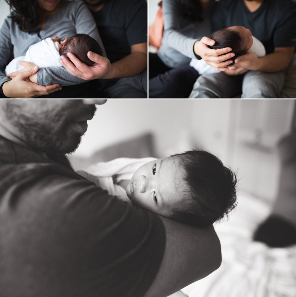 elena s blair seattle newborn baby family photographer at home