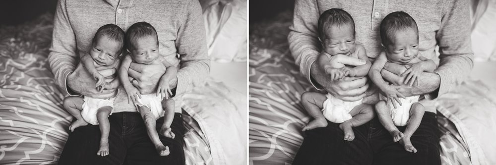 Seattle Newborn Photographer Elena S Blair | Connected and Emotive Family Photography | Twin boys