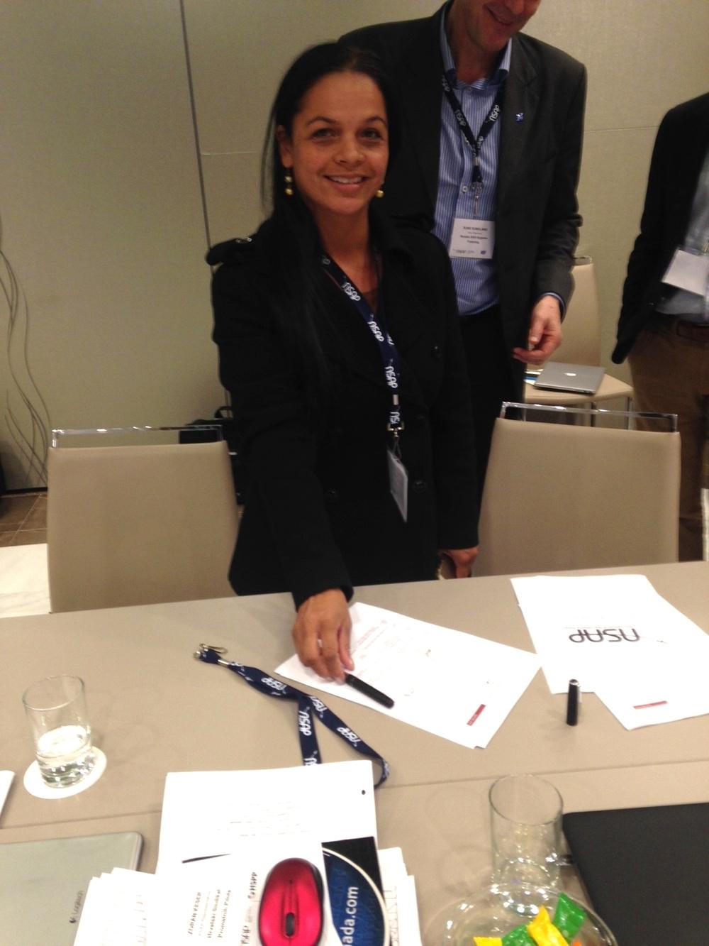 ACDAC International Affairs Chairperson Captain Diana Martínez
