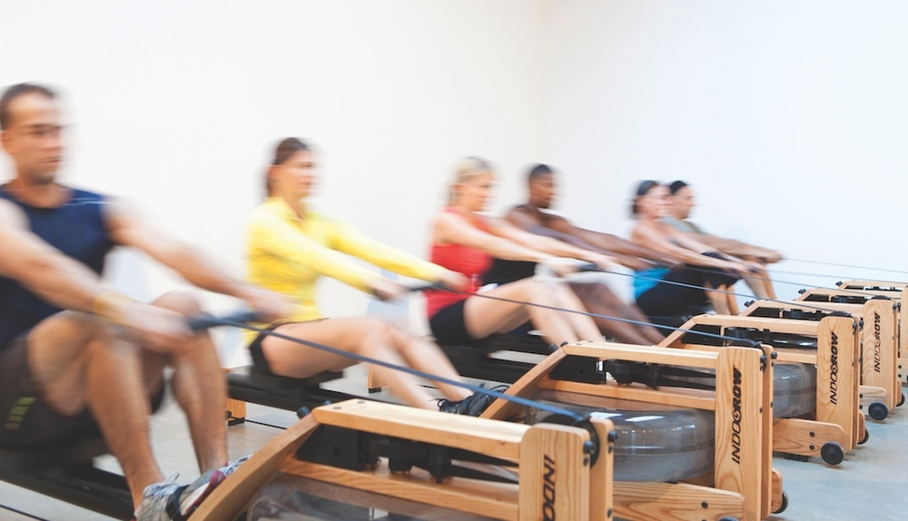 Row - Are you ready for a fun workout? Break out of your boring cardio workout and try something new.