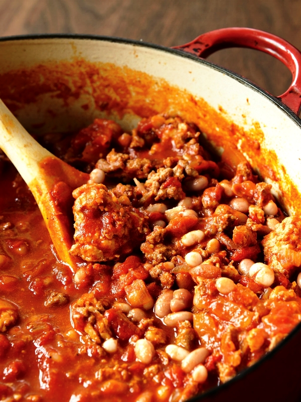 This Turkey Chili has become a regular staple in our house during the colder months. It's very simple to throw together. I usually make a double batch because the chili tends to taste better when re-heated!  Enjoy, Chris
