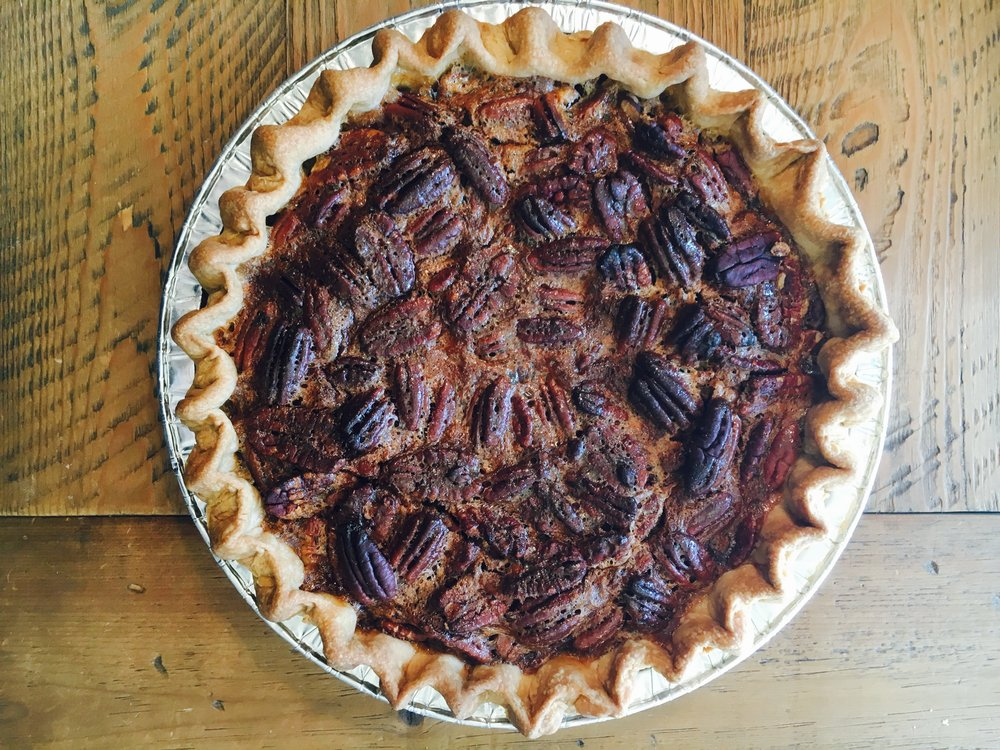 Our Pecan Pie - YUM!
