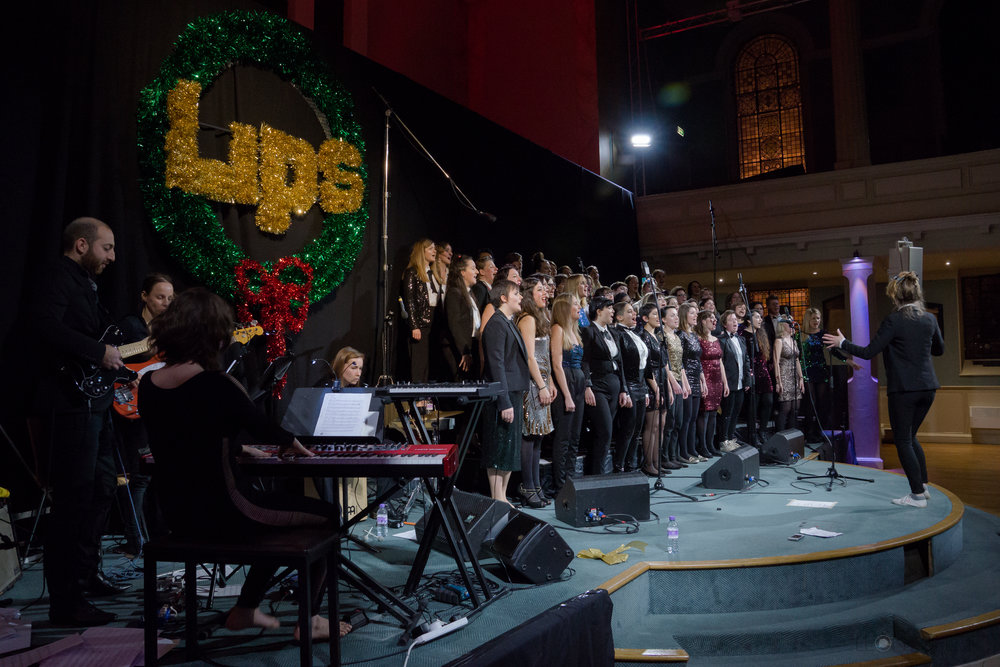 Step Into LIPSmas 2014