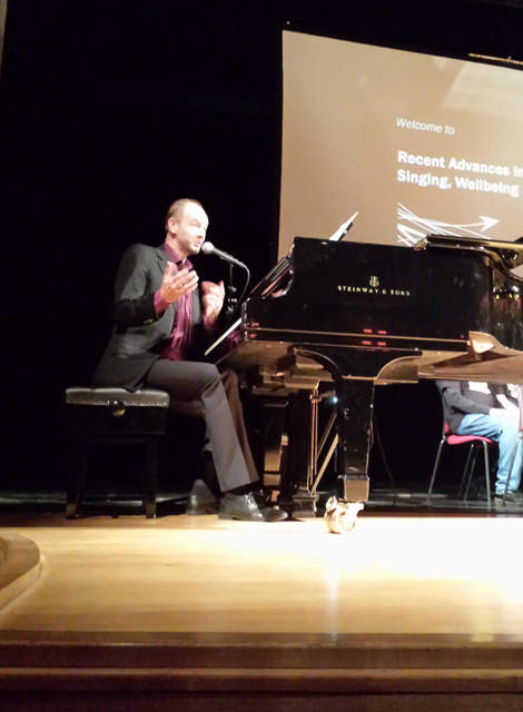 Lecture at Royal College of Music, London