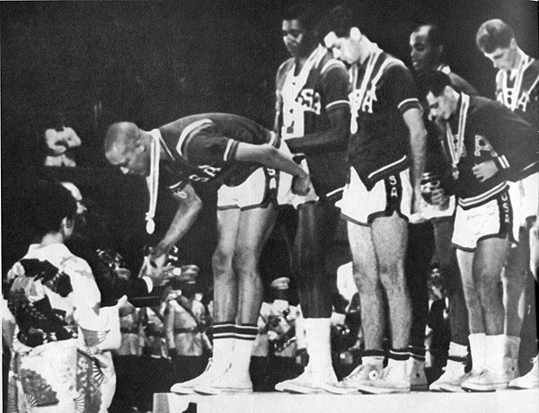 Team USA, captained by Bradley, captured the gold medal in the  1964 Tokyo Olympic s