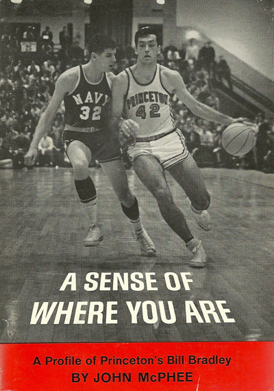 Great book for basketball fans: ' A Sense of Where You Are ', by John McPhee.