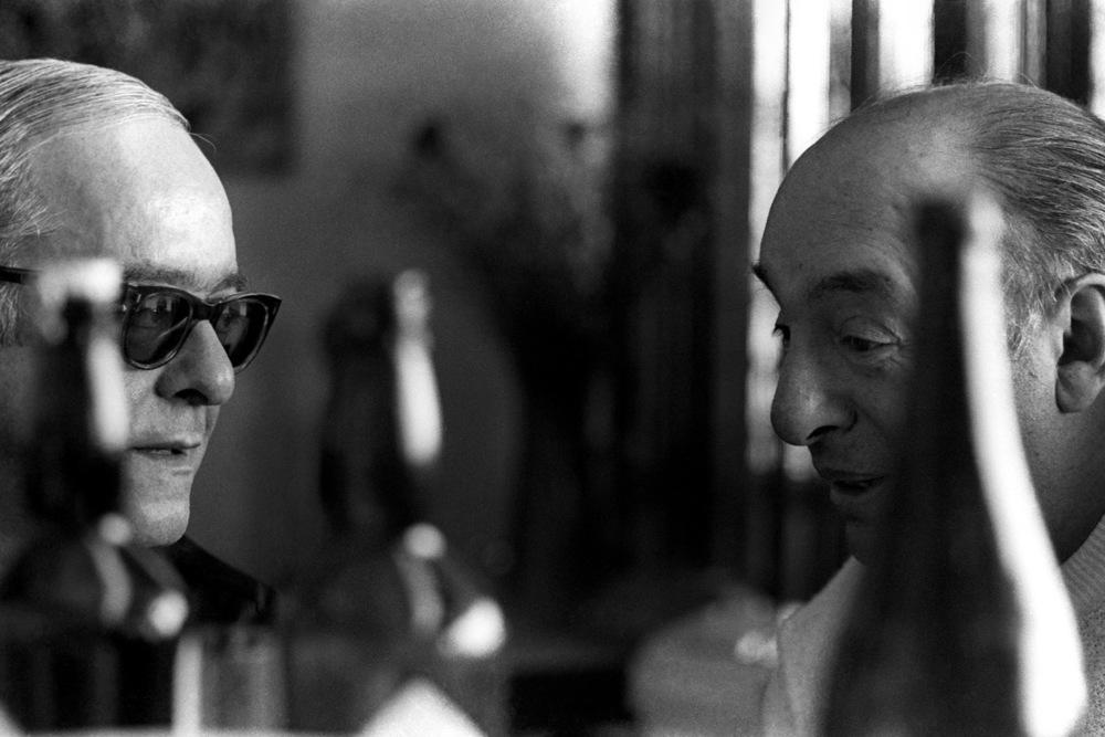 Vinicius de Moraes e Pablo Neruda