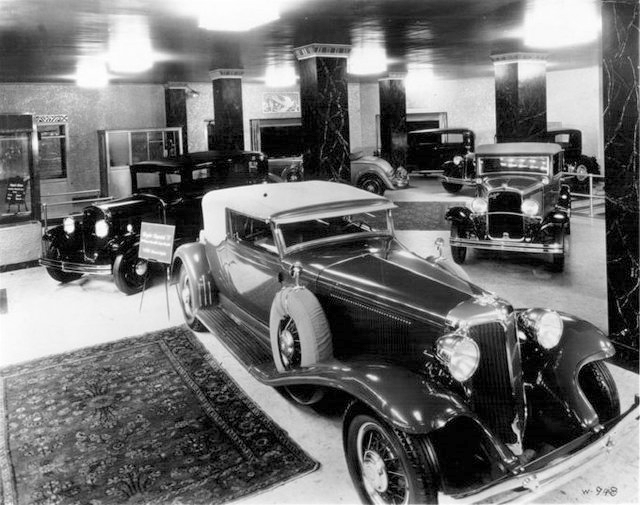 Chrysler show-room