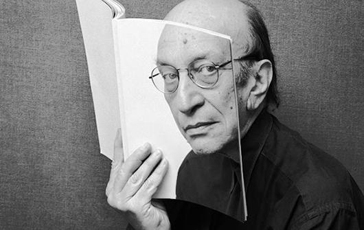 Milton Glaser, the designer of iconic logo I Love New York