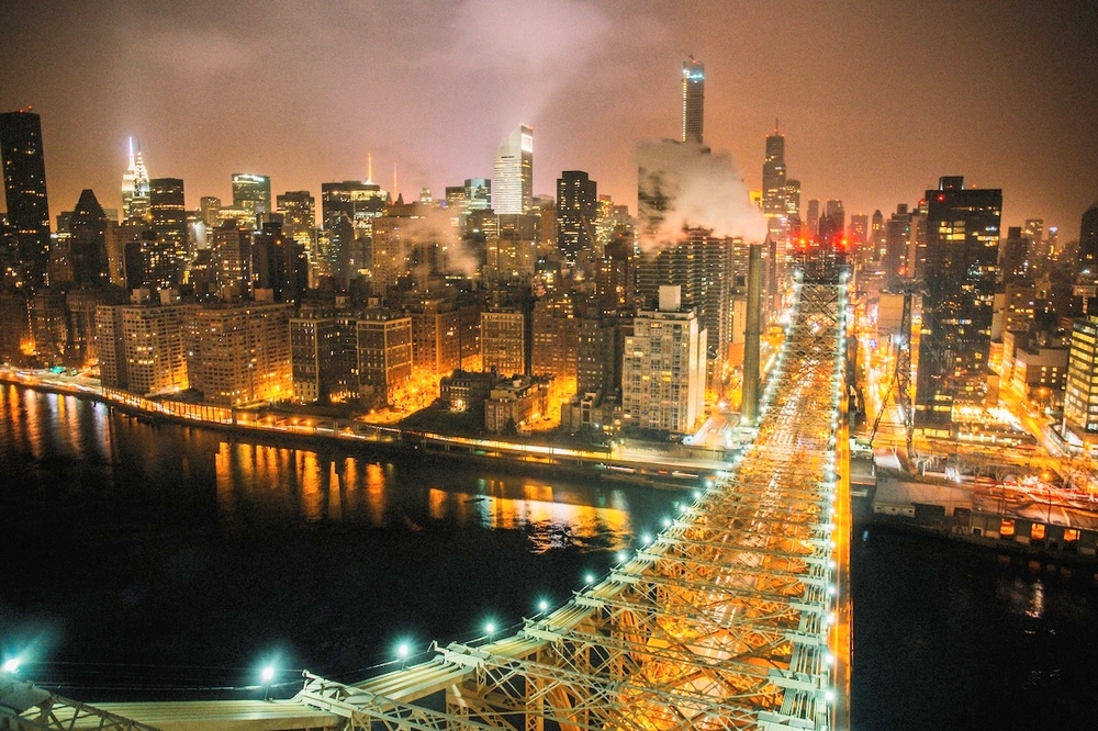 The magical Queensboro Bridge, connection Manhattan to Queens