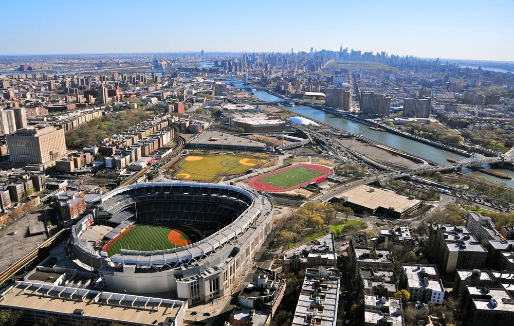 The Iconic Yankee Stadium in The Bronx