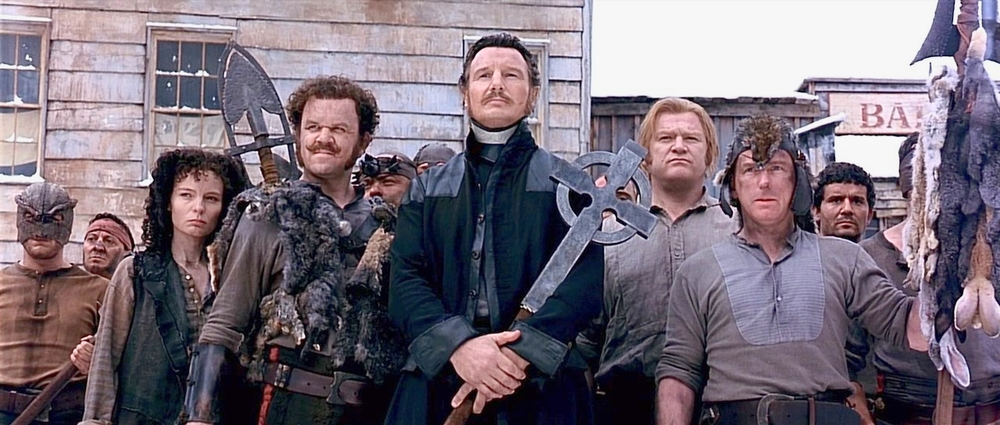"Liam Neeson as ""Priest"" Vallon. Image: courtesy of Miramax"