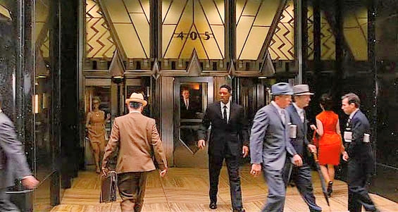 """""""Men in Black 3"""" – Will Smith at the entrance of    Chrysler Building"""