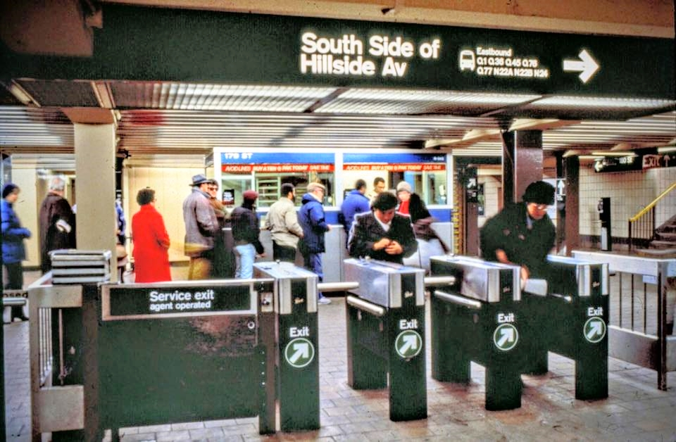 Although it is considered a crime, subway riders used to find their own way to  jumping over the turnstile at the subway stations.