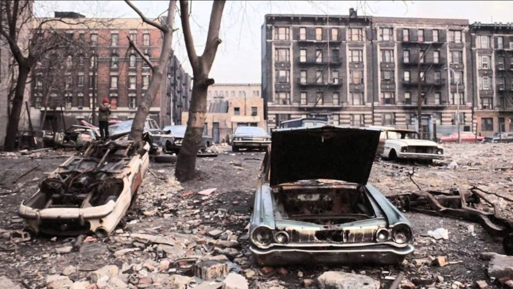 East Village    in 1982