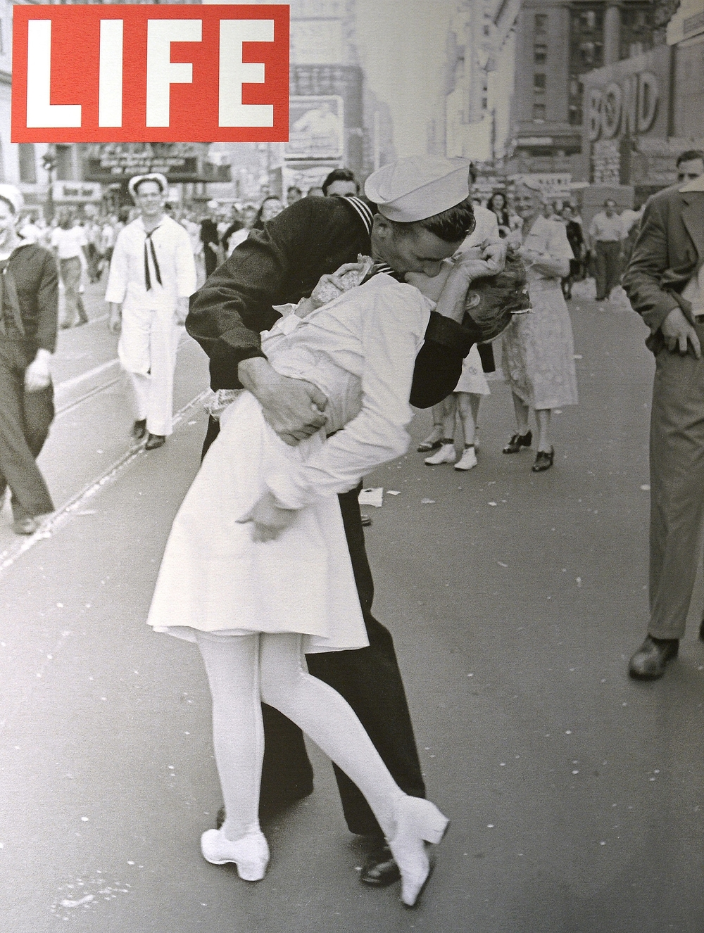 LIFE magazine cover (Copyright-Alfred Eisenstaedt/Life Magazine)
