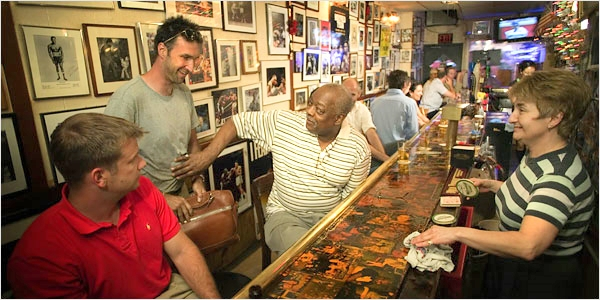 Jimmy Glenn is the owner, always interacting with patrons