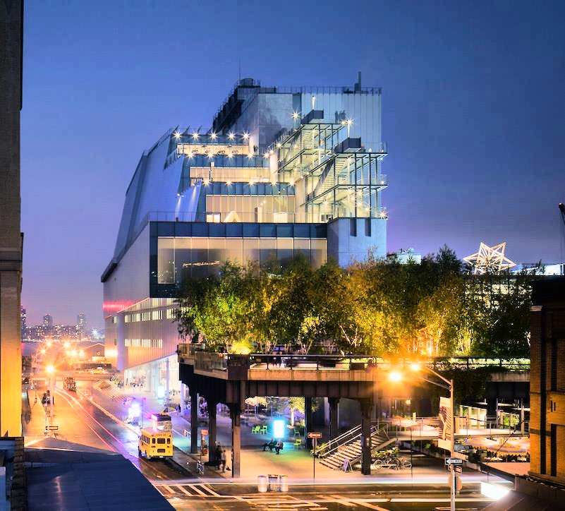 Whitney Museum of American Art. Photograph by Nic Lehoux