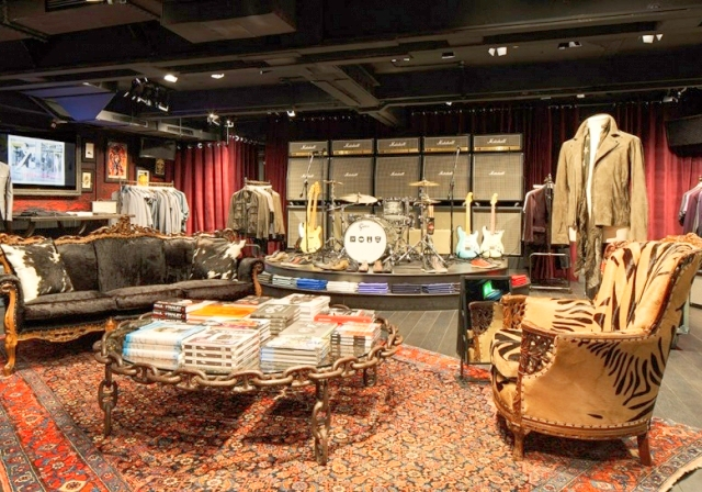 Varvatos not only rescued CBGB from the wrecking ball, he turned it into an upscale shop/museum – preserving the club's gritty bones as a backdrop to pricey classic menswear with rock roots.