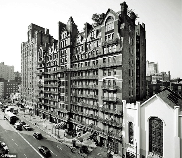 The Chelsea Hotel today. Built in 1884, the mammoth red-brick edifice on New York's West Twenty-Third Street had long been a magnet for writers, artists and musicians.