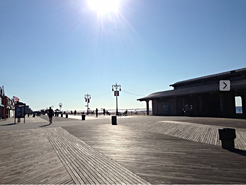 Brighton Brach boardwalk