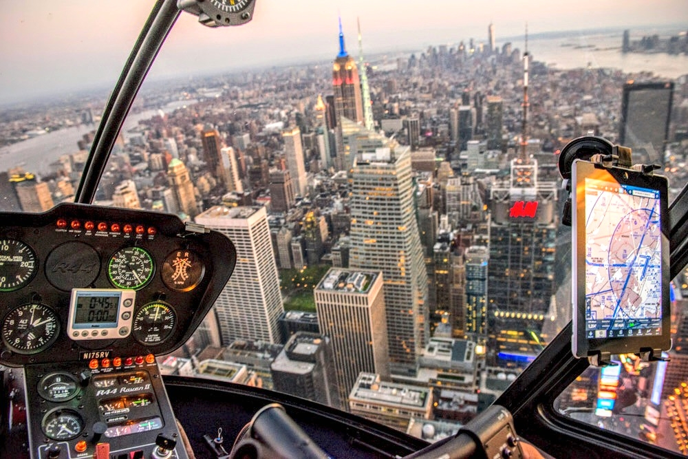 Click to see how you can experience New York from the air. It's an incredible experience.