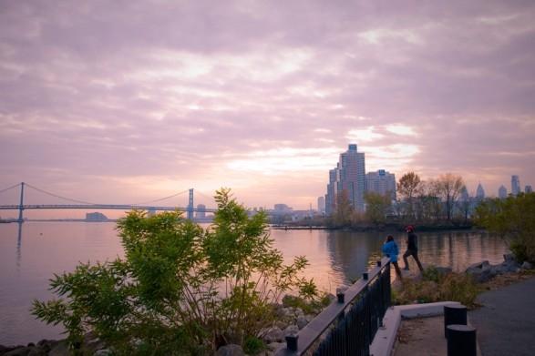 Fishtown's Penn Treaty Park