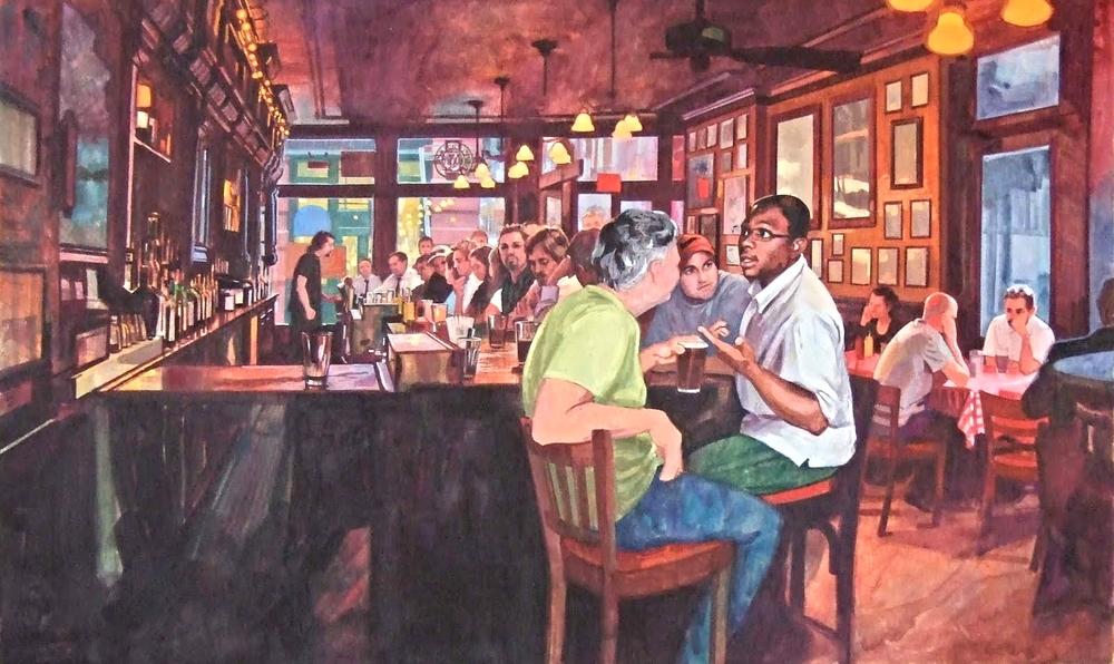 Rohman's painting, Stephen Gardner