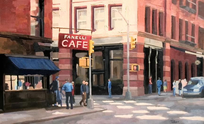 Oil on canvas by Matt Talbert
