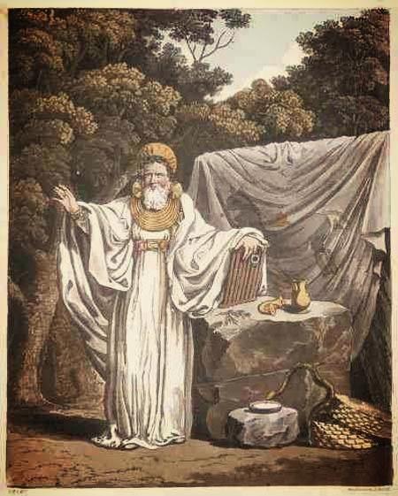 An arch Druid (1815)