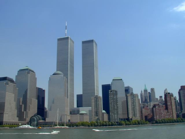 Twin Towers at the WTC ( 2000 )