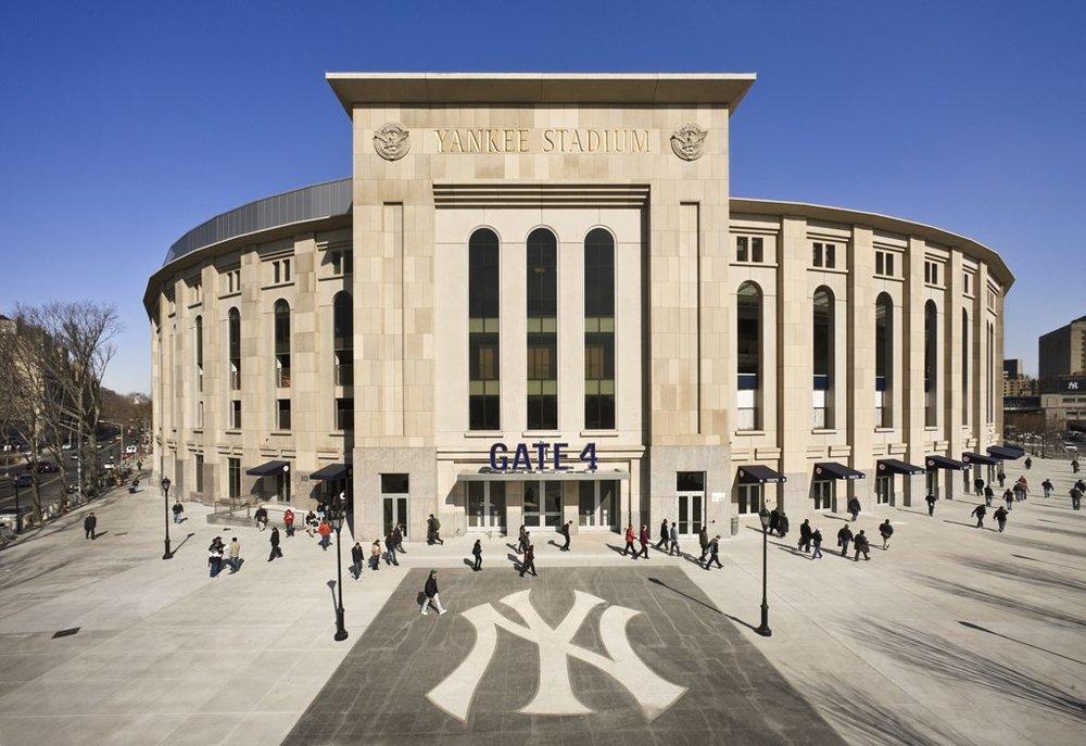 New Yankee Stadium in The Bronx, opened in 2009