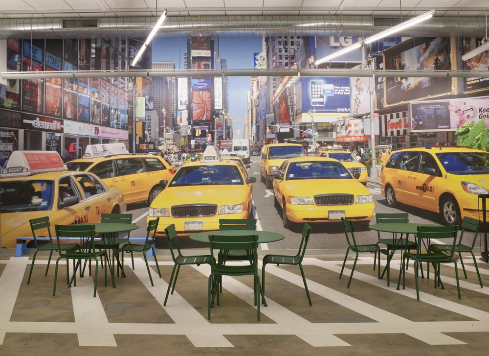 The Café Taxi at Google New York