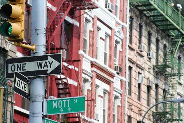 Mott Street, in Chinatown