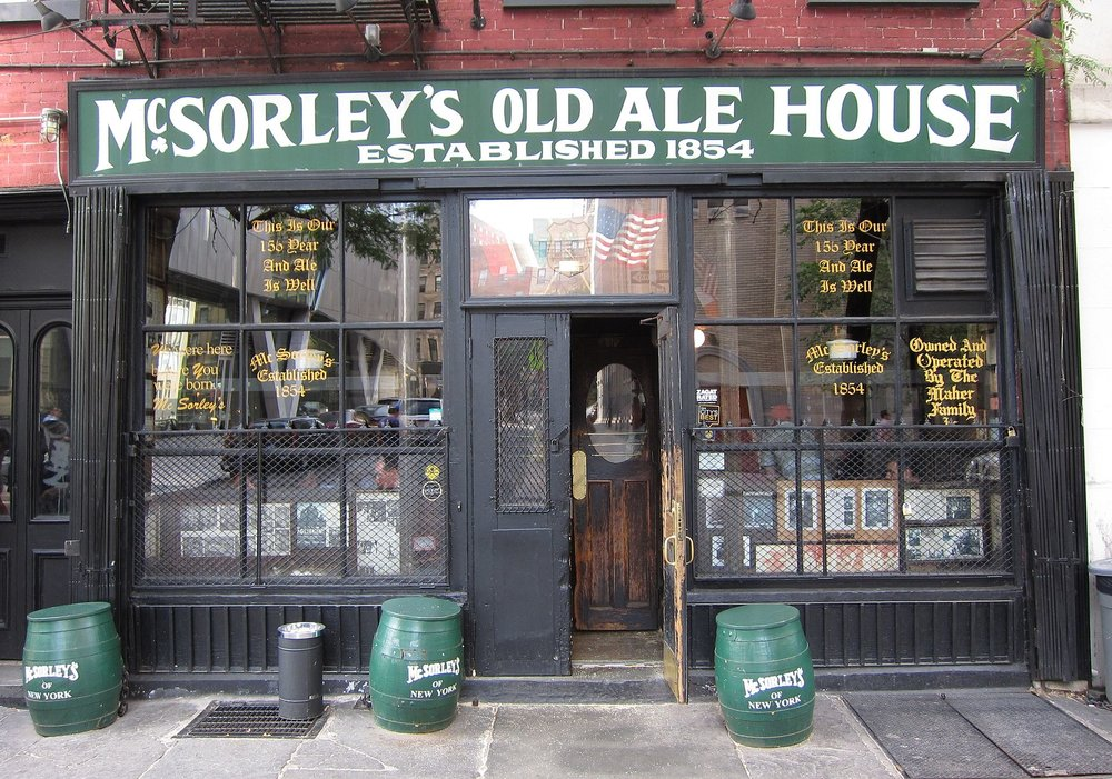 Established in 1854, Abraham Lincoln once visited McSorley's