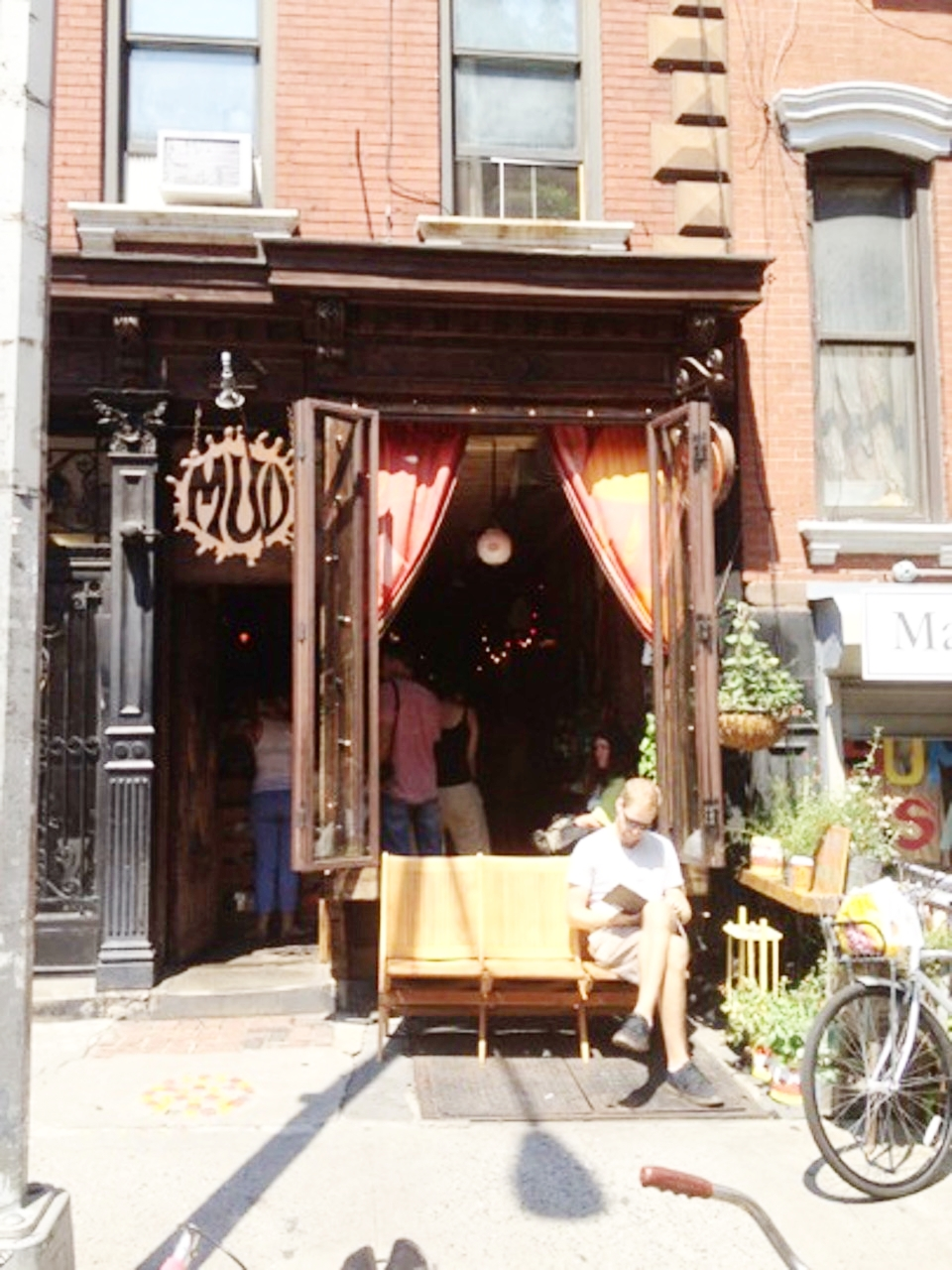 Mud Coffee at 307 East 9th Street, East Village, New York