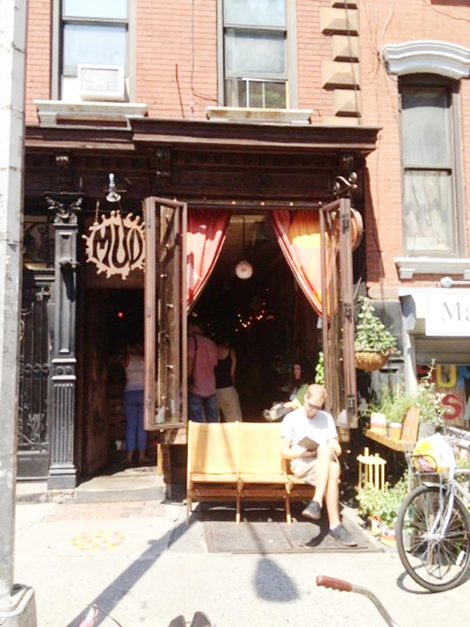 Mud Coffee at 307 East 9th Street, East Village, New York